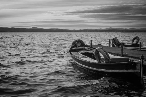 boats at lake