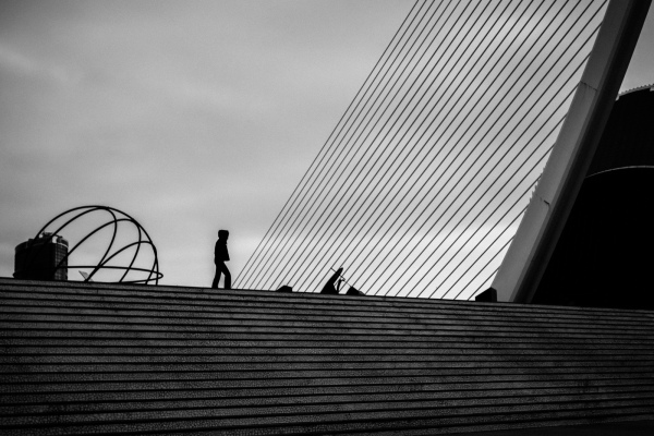 Stairs in City of Arts of Sciences