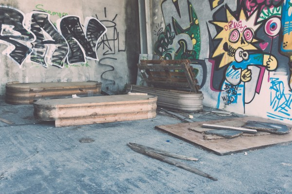 coffin factory